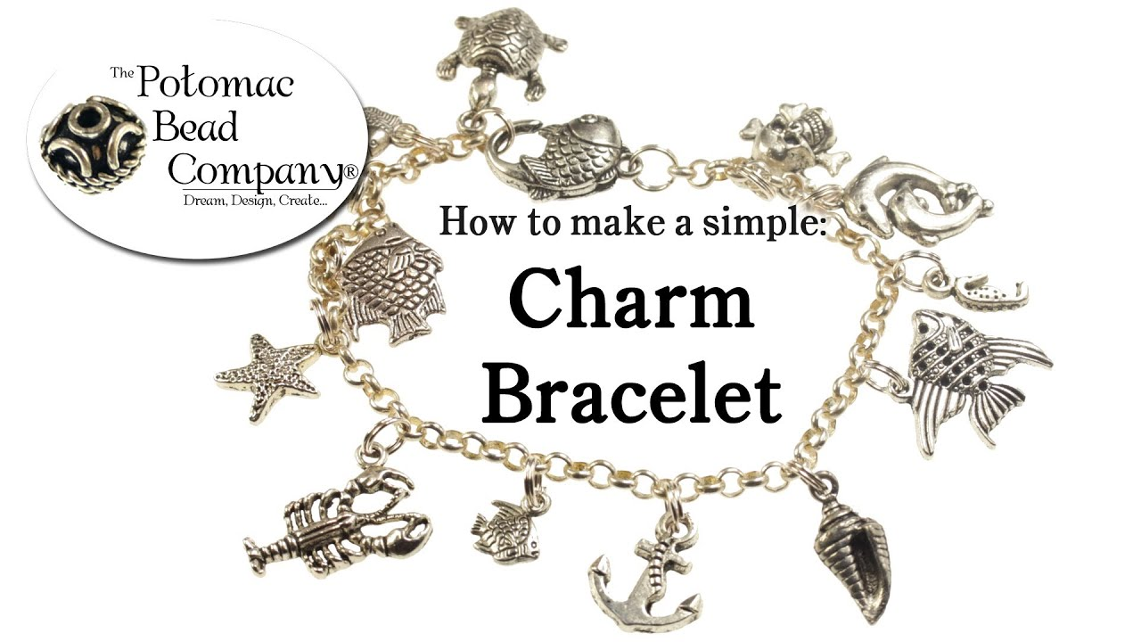 How To Make A Simple Charm Bracelet