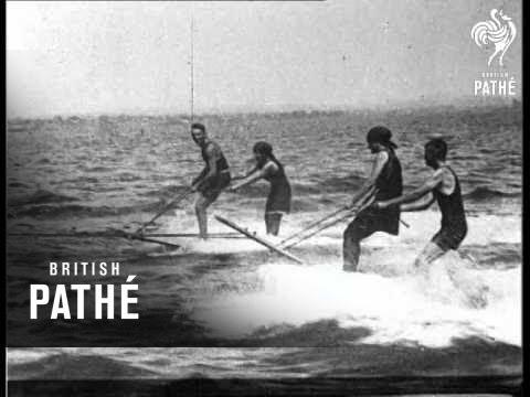 Aquaplaning - America's New Water Sport Aka Aquaplaning In Usa (1919)