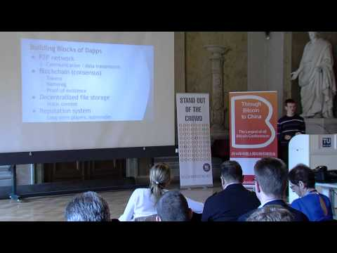 Vitalik Buterin - Decentralized Protocol Monetization CEBEXPO2014 Bitcoinist.net