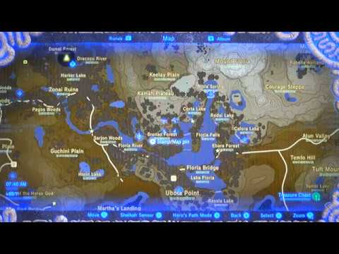Botw 015a Ex Treasure Dark Armor Made Easy Phantom Ganon Set Locations Map