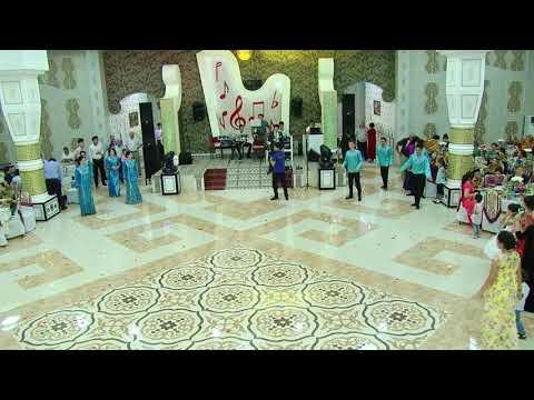 Türkmen milli tansy toyda