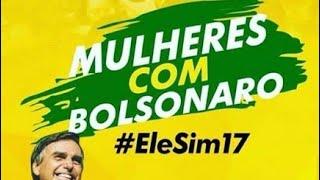 #ELESIM MULHERES COM BOLSONARO/CARREATA EM CRUZ MACHADO #BOLSONARO17