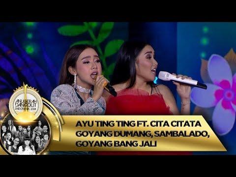 RAME BANGET!! Ayu Ting Ting feat Cita Citata GOYANG DUMANG, SAMBALADO - ADI 2018 (16/11)