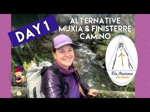 Day 1- Alternative Muxia & Finisterre Camino   Green Galicia Forest & Medieval Bridges To Negreira