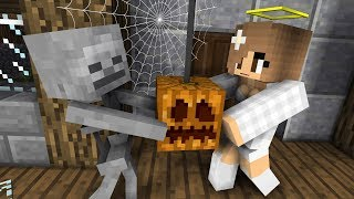 Monster School: Scary Mansion Halloween - Minecraft Animation