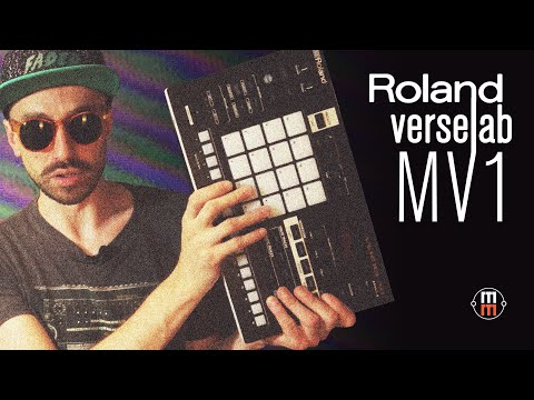 Roland Verselab MV-1 (обзор и демо)