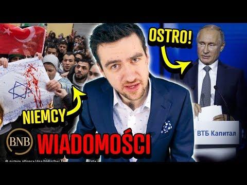 Putin OSTRO o Polsce i USA! Francuzi i Niemcy PRZECIW Izraelowi, Jemy ZA DUŻO Cukru   WIADOMOŚCI