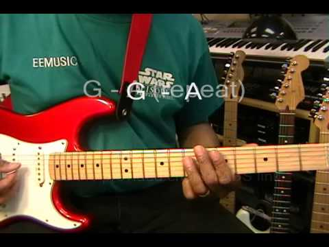 Michael Jackson HUMAN NATURE Guitar Lesson Part ONE How To Play ...