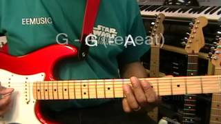 Michael Jackson HUMAN NATURE Guitar Lesson Part ONE How To Play EricBlackmonMusic YouTube