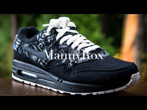 nike air max 1 pendleton id unboxing review youtube. Black Bedroom Furniture Sets. Home Design Ideas