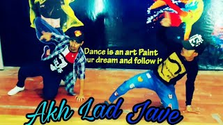 Akh lad jave /Dance/choreography/ by Vishnu mj