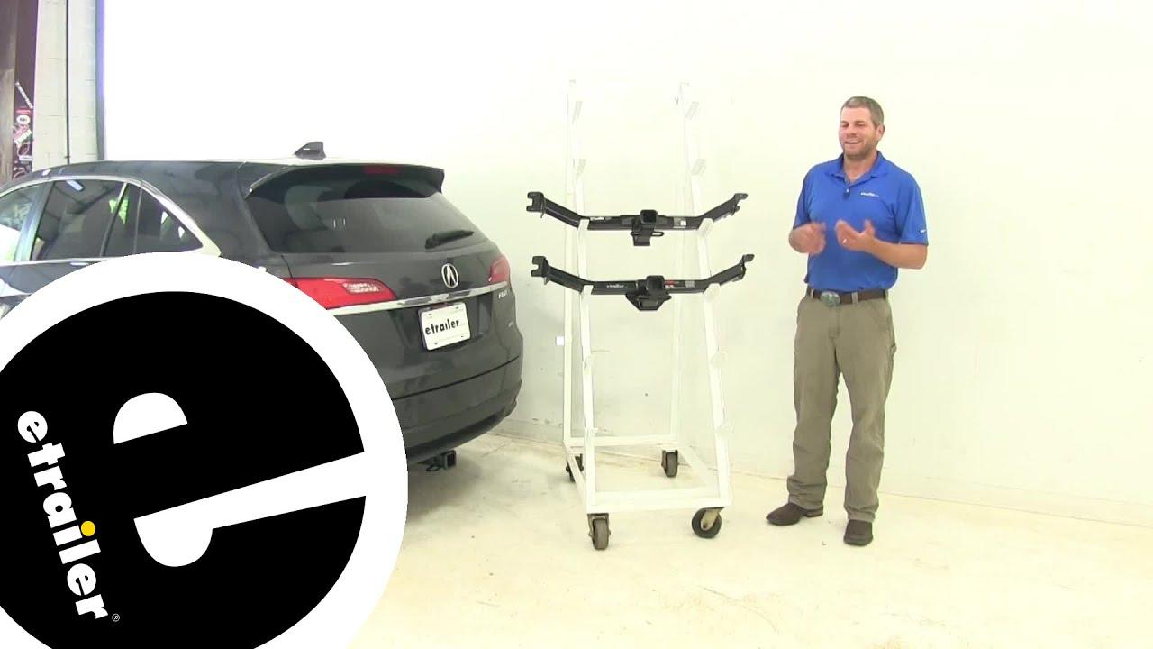Best Acura Rdx Trailer Hitch Etrailercom YouTube - 2018 acura rdx trailer hitch
