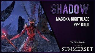 Magicka Nightblade بناء حماية الأصناف النباتية ''الظل'' - سومرست الفصل ESO