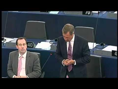 Nigel Farage: Eurokrise ist unlösbar geworden IBTimes
