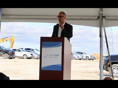 National Grid Renewables Hosts Celebration Event at Noble Solar and Storage Project
