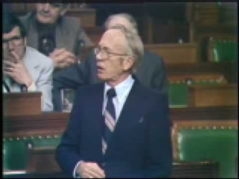 Tommy Douglas - Petro-Canada & the 1972  74 Minority Parliament - November 15, 1978