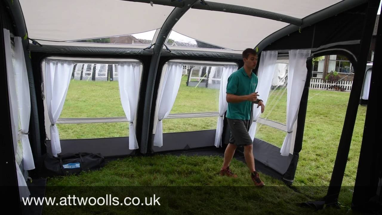 Kampa Rally Air Pro Awning Review 2017 Youtube