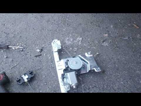 Chevy Colorado rear window motor and regulator install