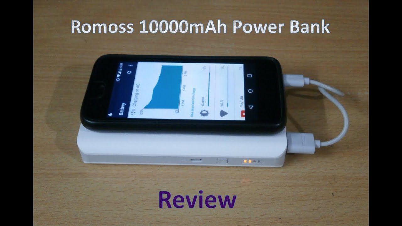 best 10000mah power bank romoss solo 5 review youtube. Black Bedroom Furniture Sets. Home Design Ideas