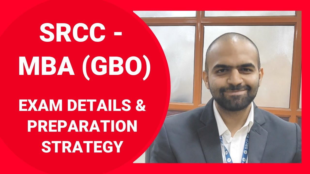 Crack SRCC GBO (MBA) 2020  |  Decode All Details | Planning & Strategy for Preparation