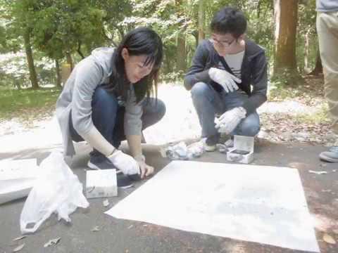 【近畿大学】経営学部自治会-書道研究会神墨会2017