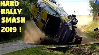 Rally Crash Compilaton 2019