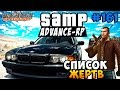 Advance-Rp [SAMP] #161 - Список Жертв! (Гетто)