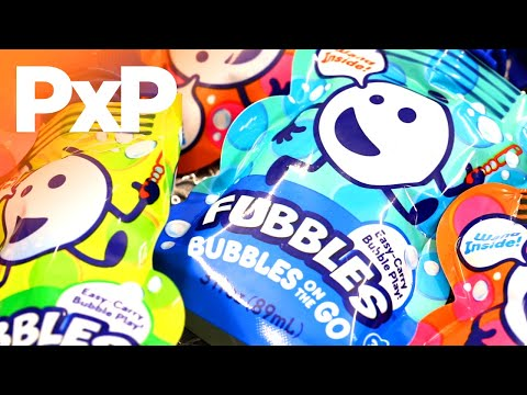 Head to the backyard with Fubbles Bubbles on the Go! | A Toy Insider Play by Play