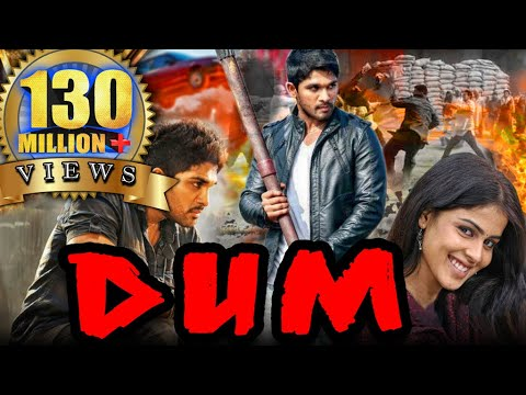 Dum (Happy) Hindi Dubbed Full Movie | Allu...