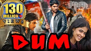 dum (Happy) Hindi Dubbed Full Movie | Allu Arjun, Genelia D'Souza