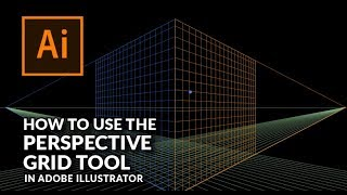 How To Use The Perspective Grid Tool in Illustrator
