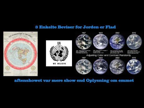 3 Enkelte Beviser for Jorden er Flad og står stille