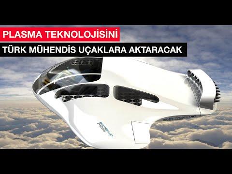 Türk mühendisin geliştirdiği Plasma teknoloji geleceğin uçaklarını uçuracak
