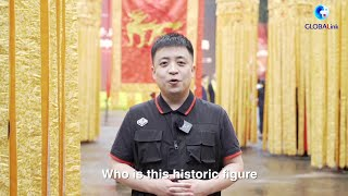 GLOBALink  Chinese people worship legendary ancestor in east China