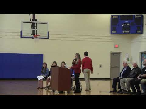 Metcalfe County Middle School Veterans Day Ceremony 2019