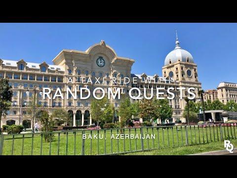 Taxi Driving   BAKU, Azerbaijan 🇦🇿 #2 - [Music Prod. by Saikibeats]