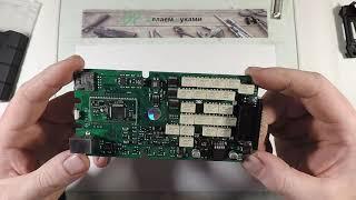Мультимарочный сканер Delphi DS150E однопалатный