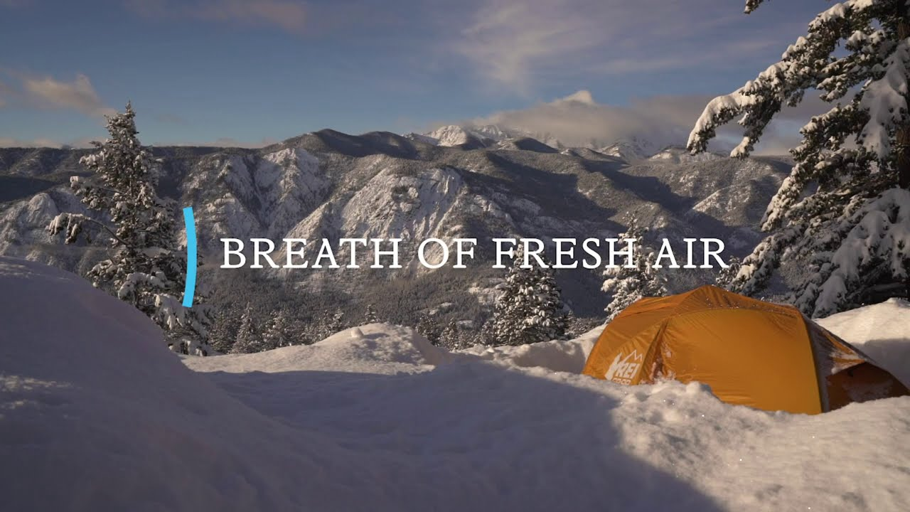 REI | A Breath of Fresh Air: 4 Minute Winter Camping Day ...