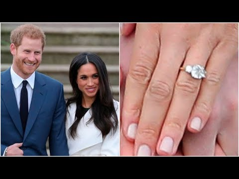 Meghan Markle First details of engagement ring and a look at her
