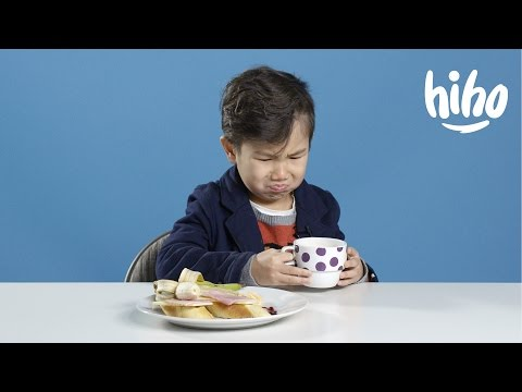 Breakfasts  American Kids Try Food From Around the World  Ep 1  Kids Try  Cut