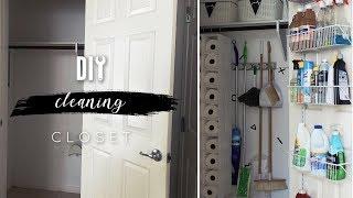 DIY Cleaning Closet