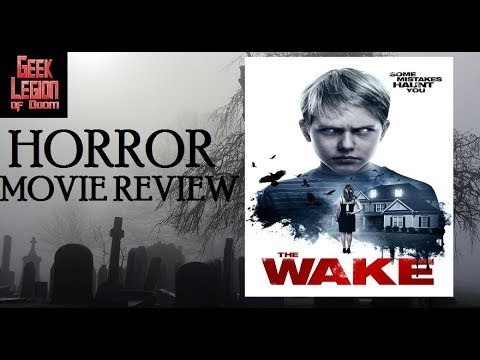 THE WAKE ( 2017 Allie Rivera ) Satanic Slasher Horror Movie Review