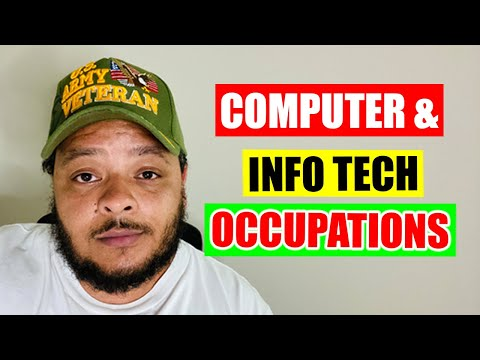 Computer & Information Technology Occupations