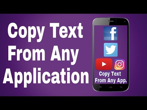 How To Copy Text From Any Application On Android