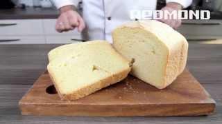 Хлебопечка REDMOND M1907. Рецепты в хлебопечке #2: Кукурузный хлеб