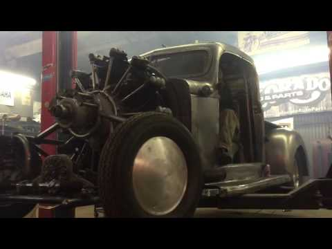 Plymouth Air Radial Truck startup