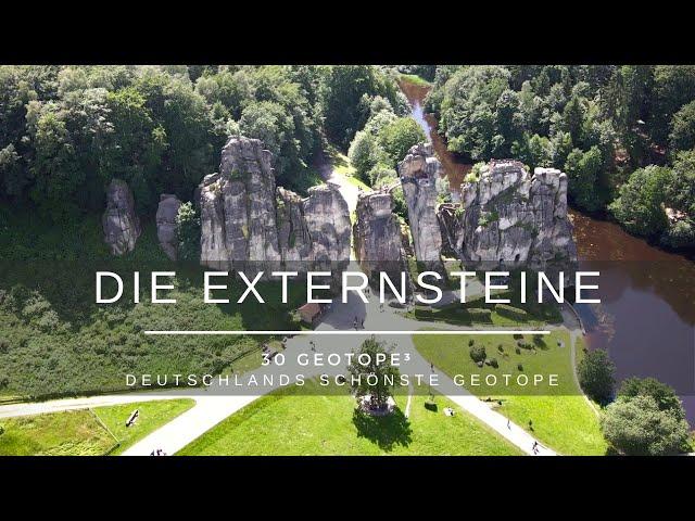 Die Externsteine - 30 Geotope³ - Deutschlands schönste Geotope