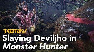 Slaying Deviljho in Monster Hunter: World thumbnail