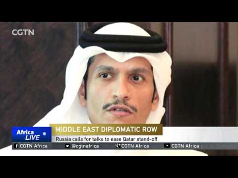 Russia calls for talks to ease Qatar stand-off