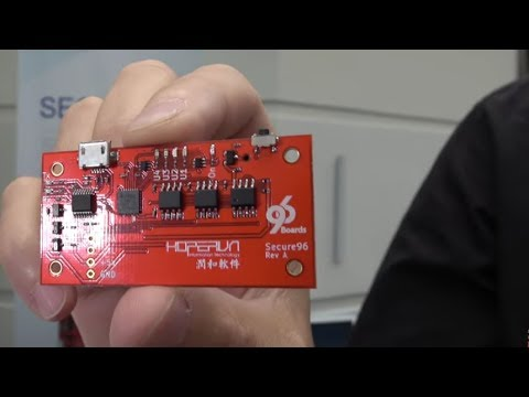Getting Started With The Secure96 TPM - 96Boards